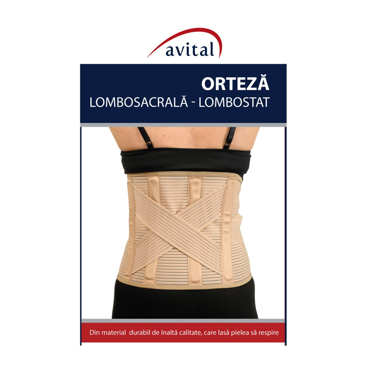 Lombostat/Orteza lombosacrala VL-10009