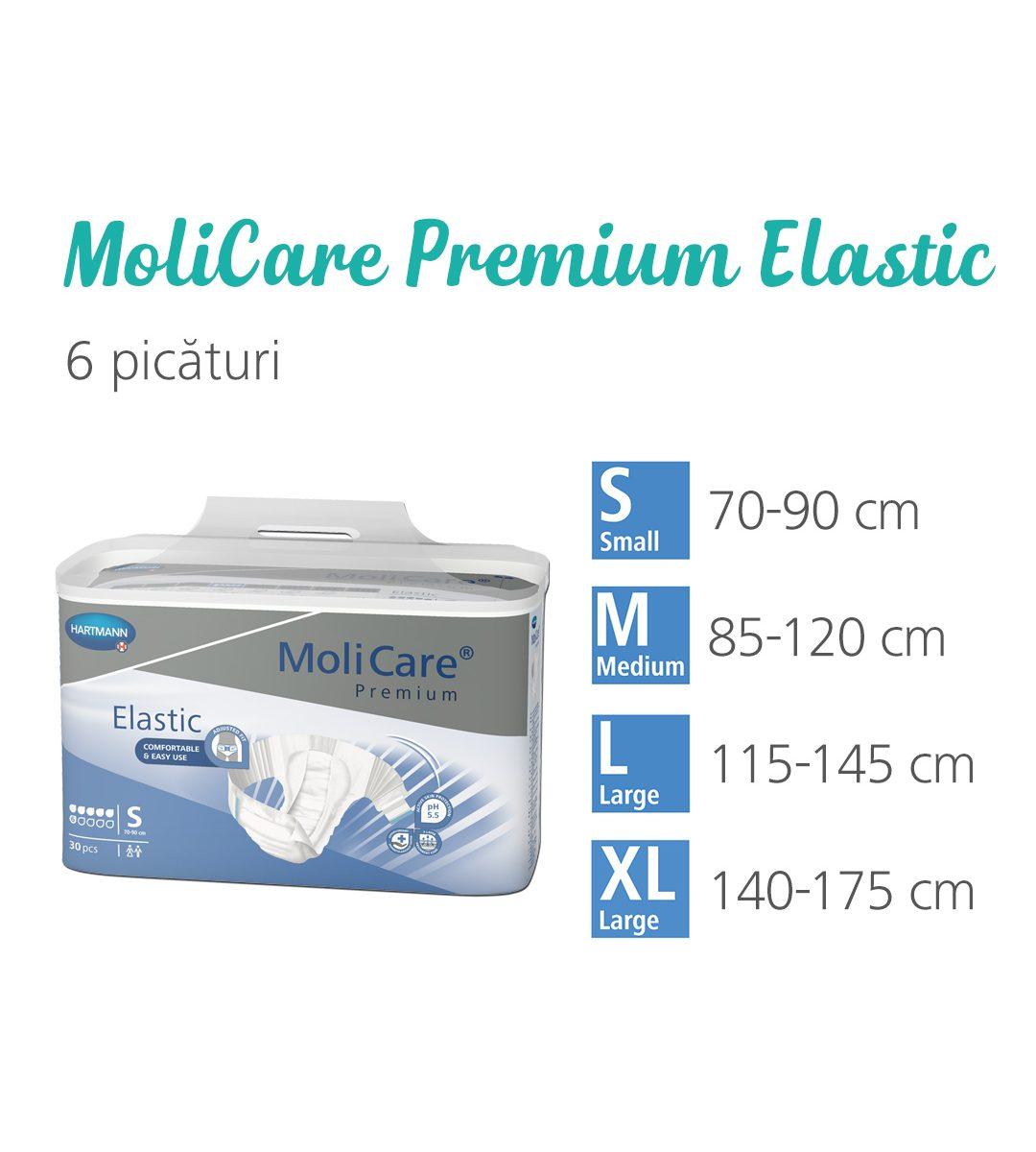 MoliCare Premium Elastic 6 picaturi