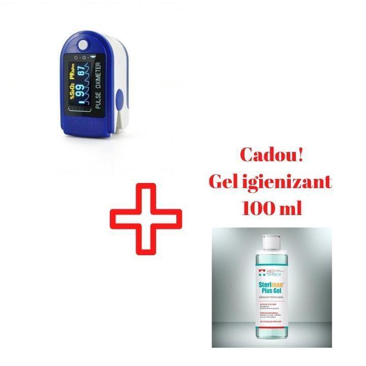 Pulsoximetru + Gel Igenizant Cadou