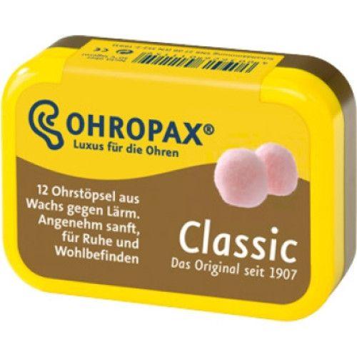 Dopuri de urechi OHROPAX, din ceara, impotriva zgomotului