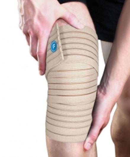 Orteza de genunchi elastica Fortuna UNI (Fortuna terdrogzito rugalmas bezs uni)